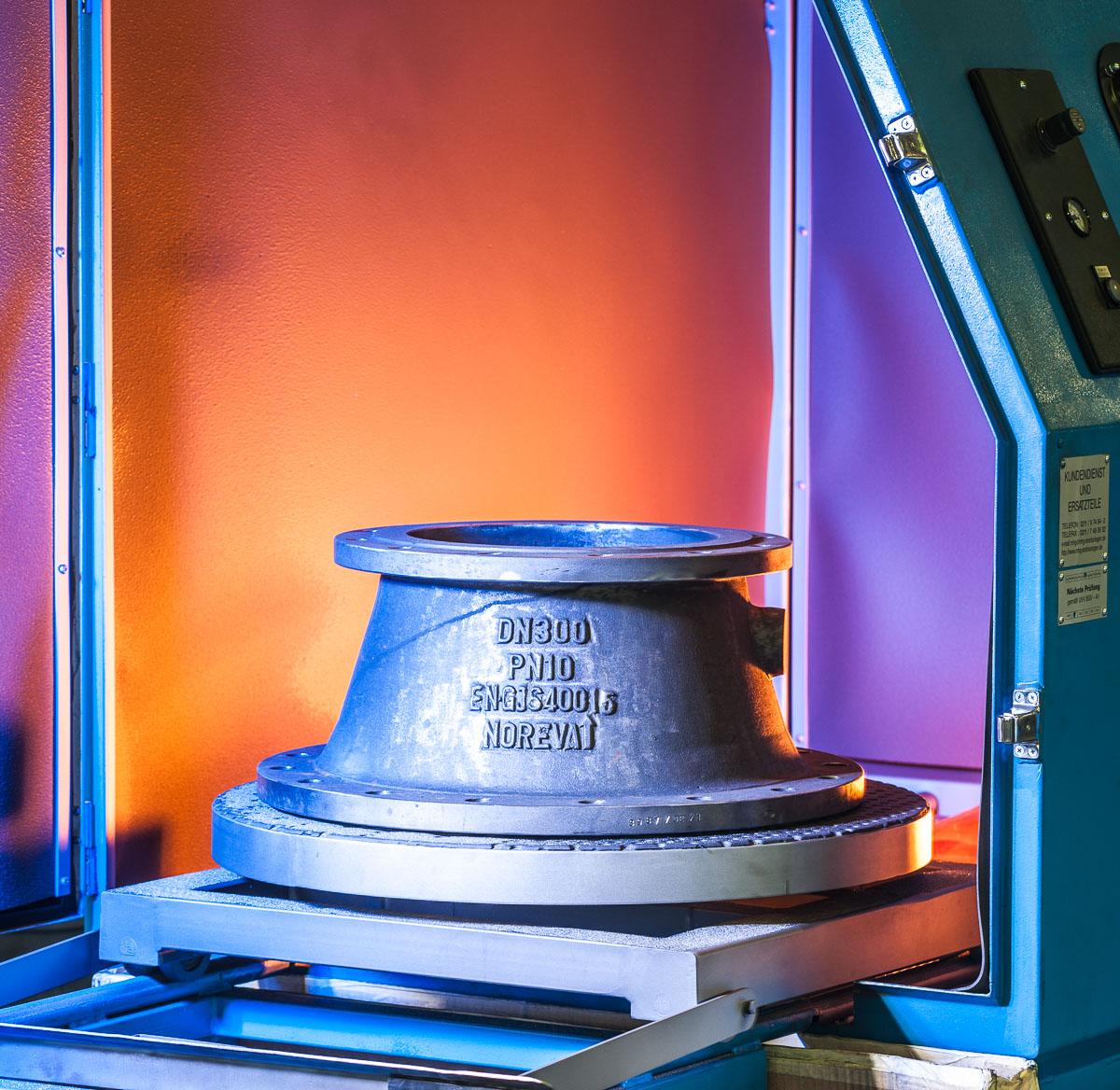 Industriefoto Maschine Fotograf Lothar Drechsel Mönchengladbach