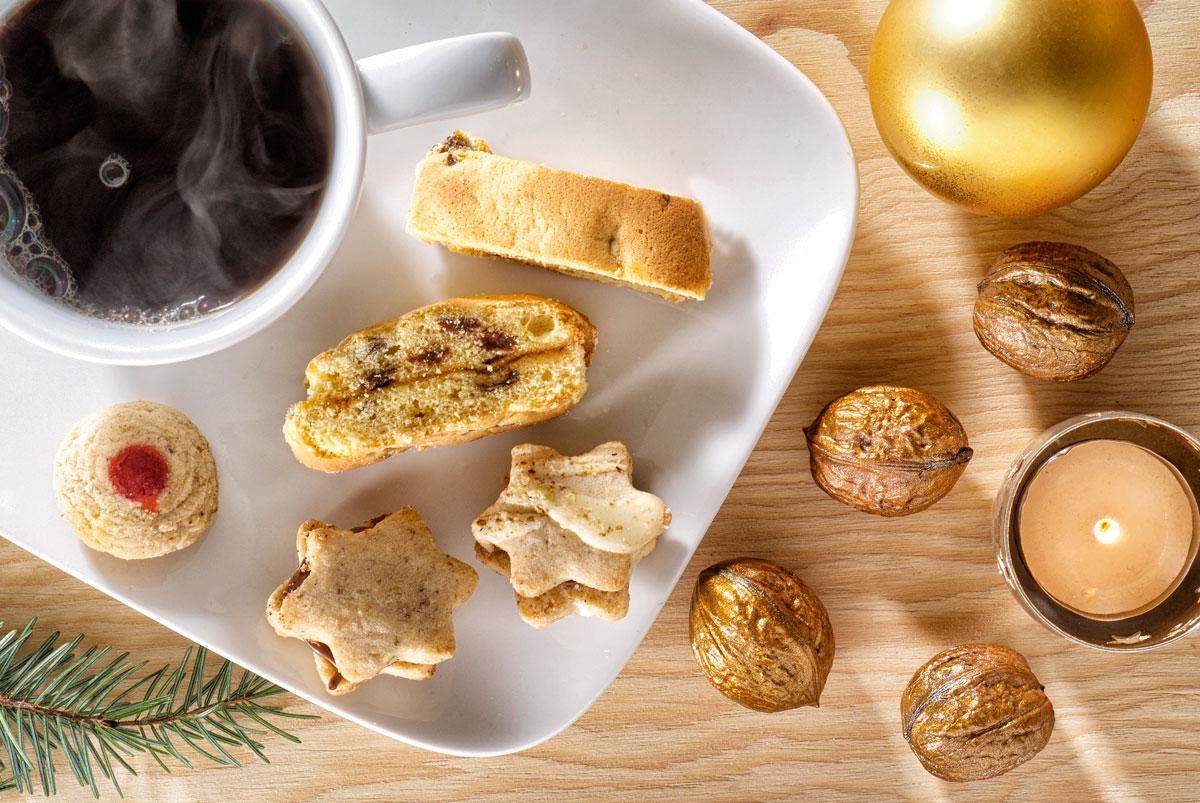 Foodfoto Kekse Kaffee Weihnachten Fotograf Lothar Drechsel Mönchengladbach