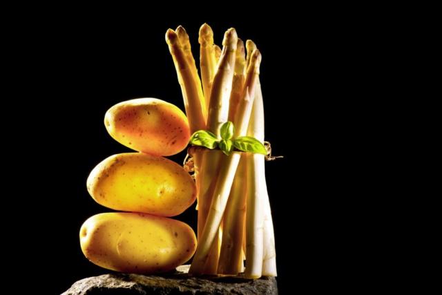 Foodfotografie Still Spargel Kartoffel Fotograf Lothar Drechsel Mönchengladbach