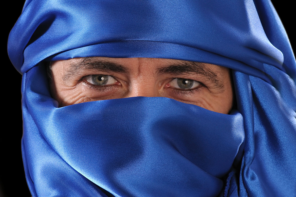 Portrait Turban AugenFotograf Lothar Drechsel Mönchengladbach