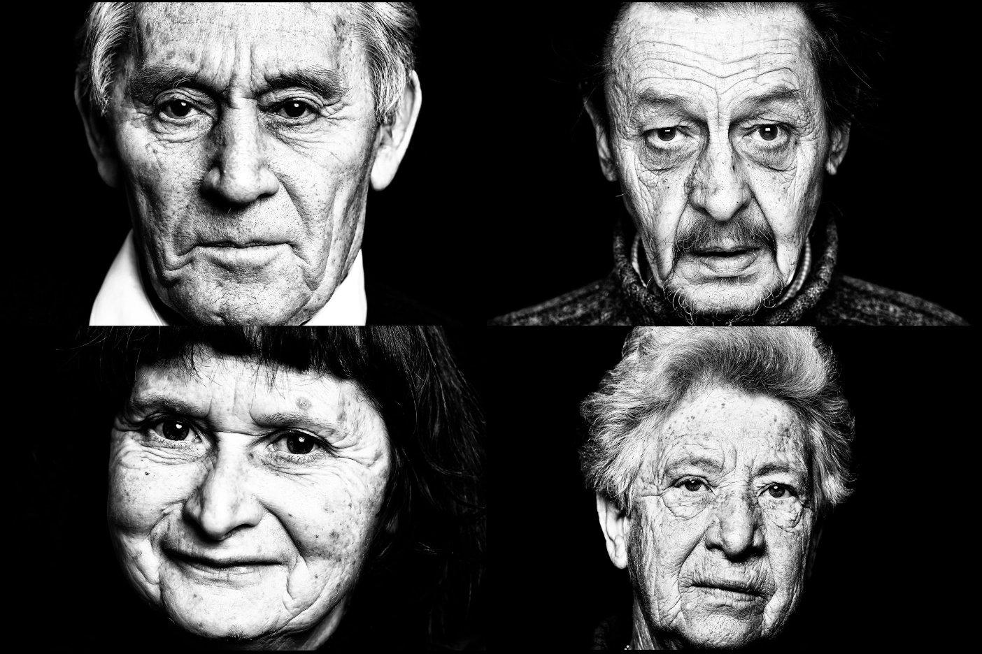 Portraits s/w Charakerfotos Fotograf Lothar Drechsel Mönchengladbach